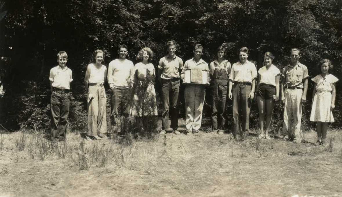 1932  Member of the Camp Council, 4-H Summer Camp